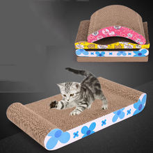 Cheap Price High Quality Shaped Scratcher Cardboard Board Pet Toys For Cat