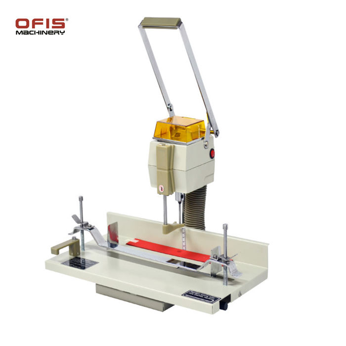 Ofis electric paper punch machine 3mm-8mm hole puncher