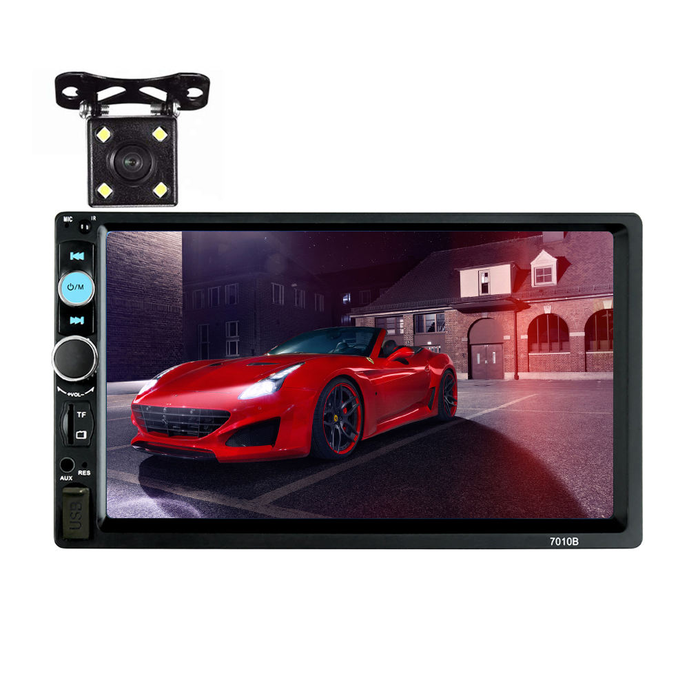 Auto mp5 speler video formaat 7inch bluetooth-enable 2din auto radio