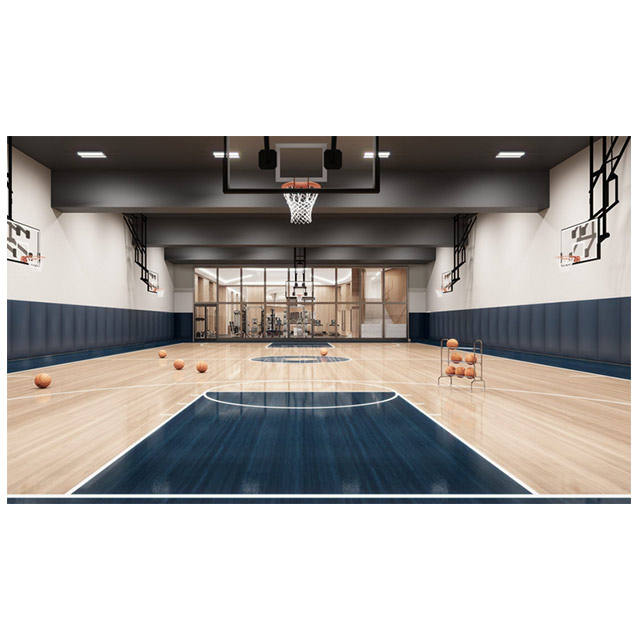 clubs used Synthetic pvc material wood surface sports flooring for indoor basketball court