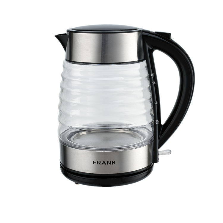 Electric Glass Tea Top #304 Stainless Steel 1.7L Water Jug Fast Boil Water Glass Electric Kettle