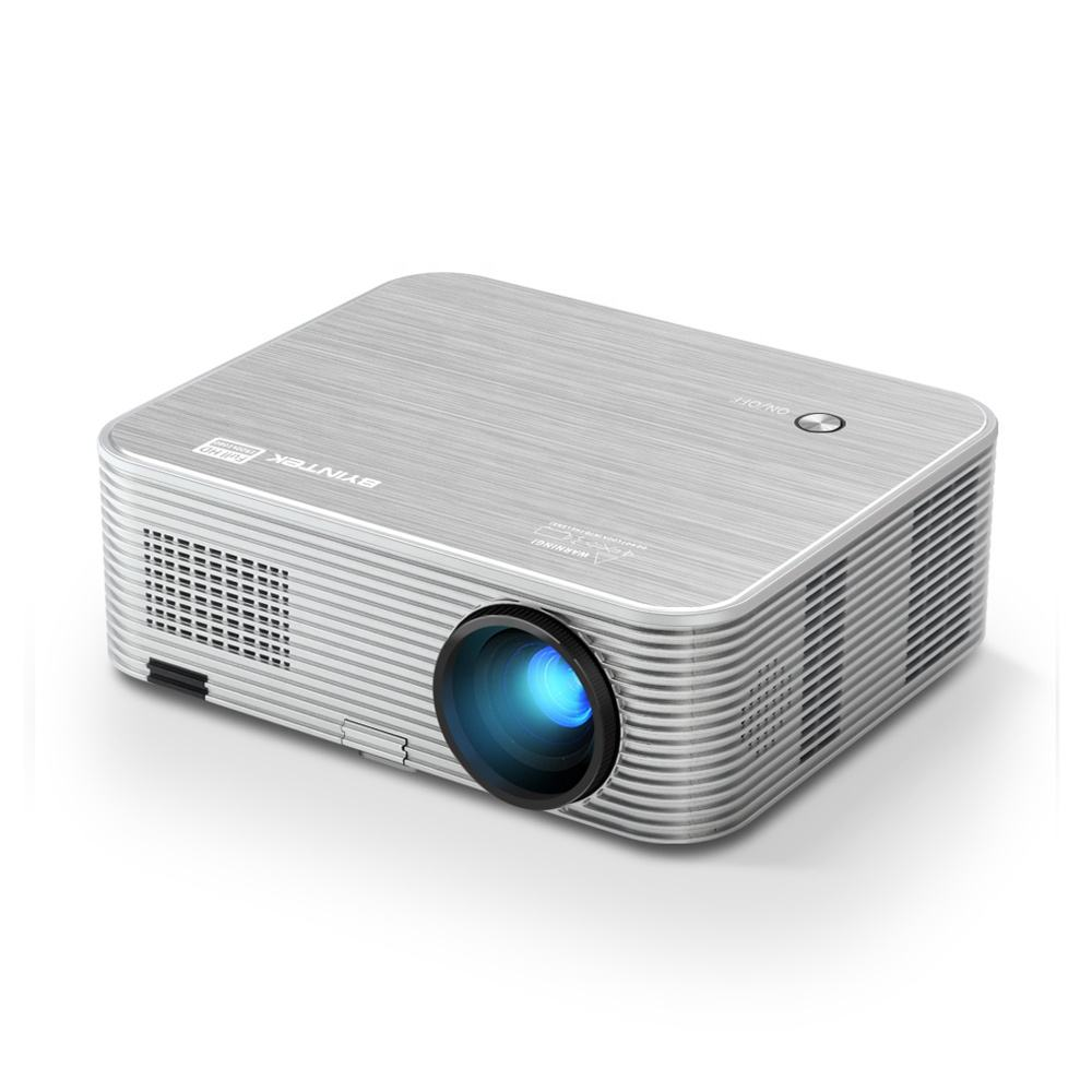 New BYINTEK 5000Lumens K15 200inch 3D 1920x1080P Home Theater LED Projector (40USD Extra for Android OS)