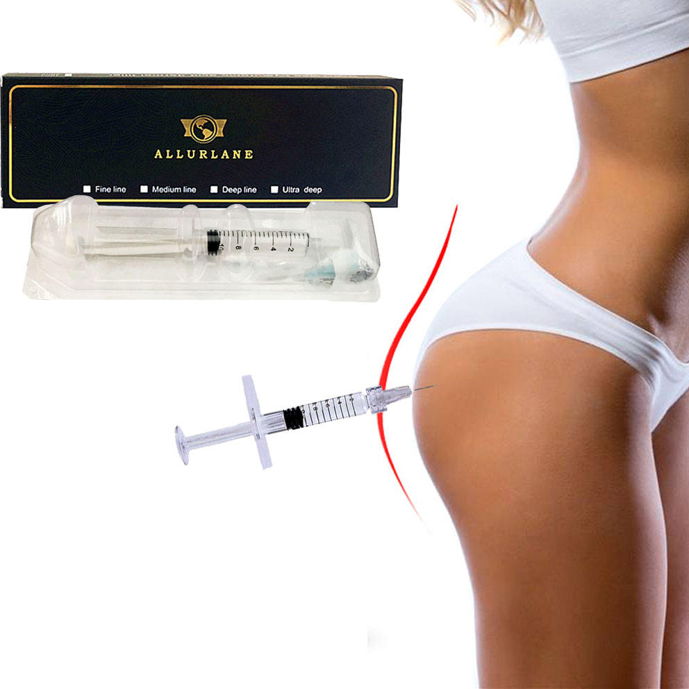 Allurlane 20 ml dermal filler injection butt enlargement with syringe