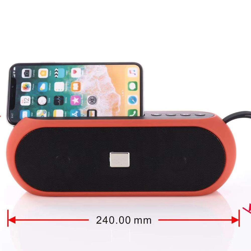 bluetooth TF Card 2 Passive Wireless Mobile phone stand speaker