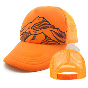 Flat Brim bank Gorras Trucker Hat Mesh Foam Trucker Mesh Caps Blank Promotional Men Casquette Trucker Hats