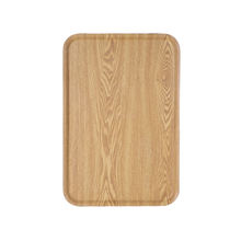 JOYHOME Wooden Tray Rectangle Hotel Coffee Trays