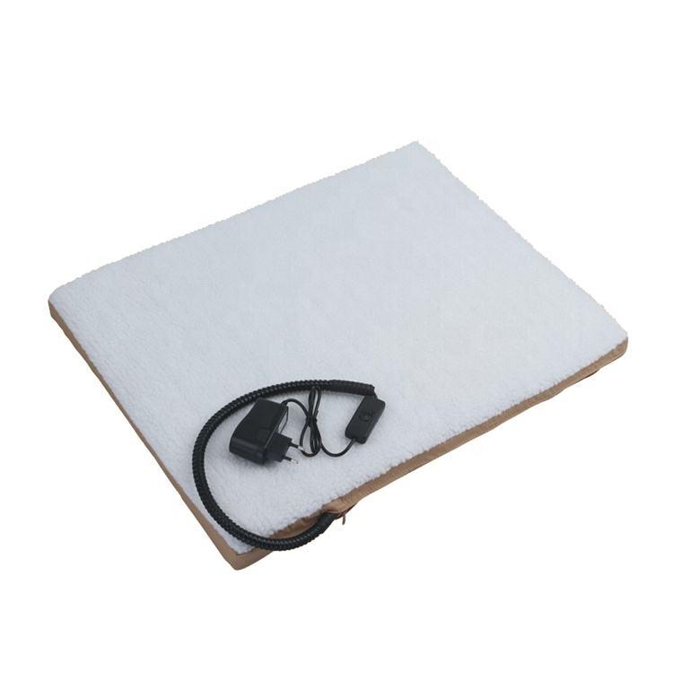 Buena calidad venta directa de fábrica de alta calidad de perro de camas calefacción eléctrica almohadilla para mascotas