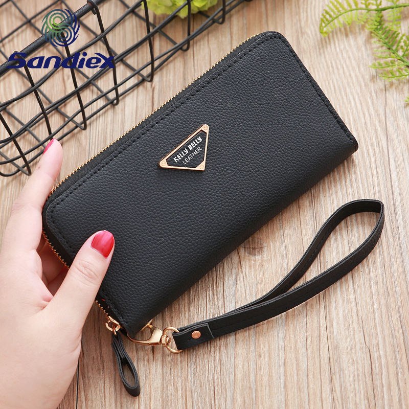 One-Stop Service [ Wallet Leather Wallets ] Wallet Women New Design Color Ladies Wallet With Low Price PU Leather Long Purses Wallets For Women
