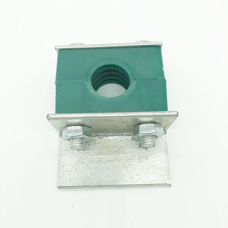 Factory provides 4-hole M7 pipe clamp / plastic card