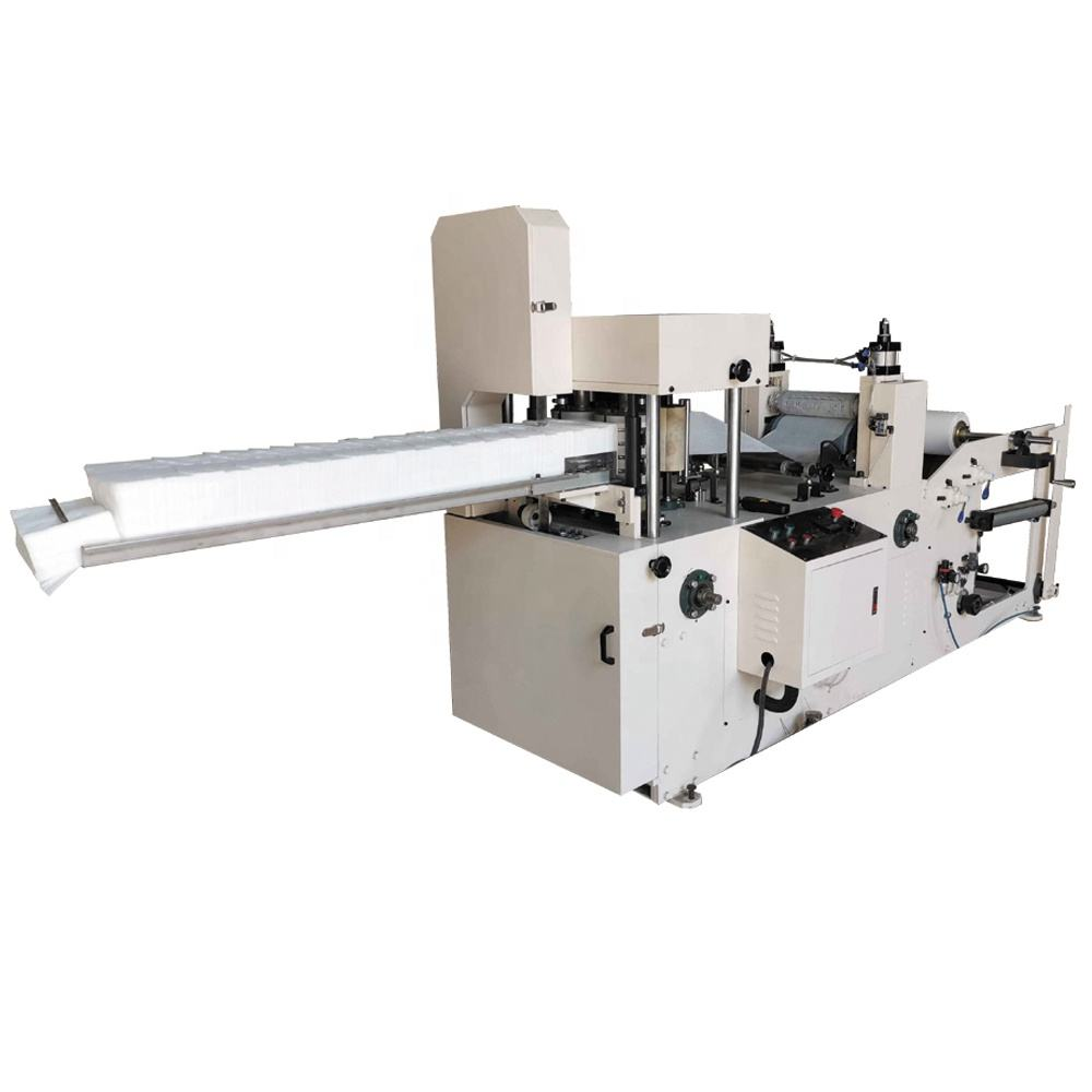 Automatische servet tissue papier making machine