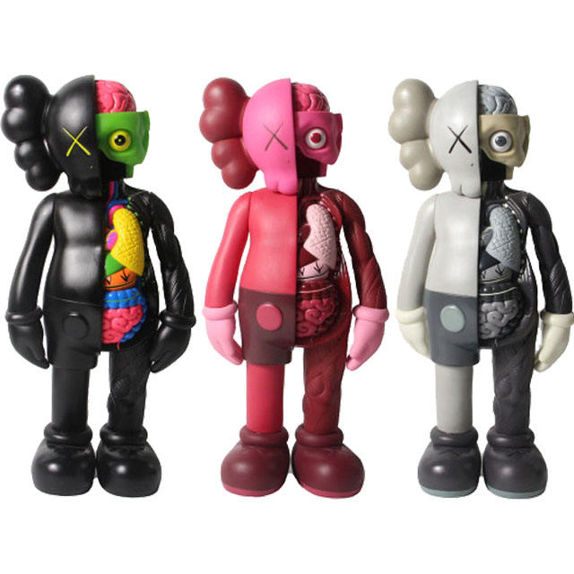 Kaw Action Figures Toys Bearbrick Anatomical Dolls PVC Action Figure Collection Model Gifts Drop Shippinp