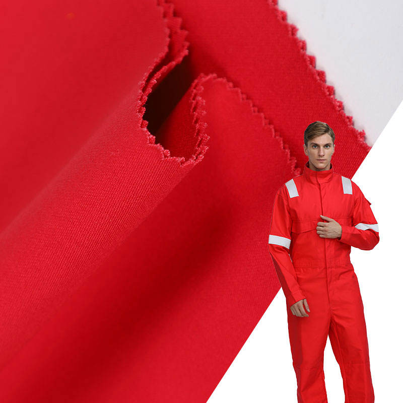 FR/Fireproof flame retardant cotton flannel fabric for welding