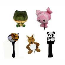 OEM Factory High Quality Cute Plush Animals Knitted Golf Club Headcover Customized Woods Drivers Headcovers for Lowest Prices