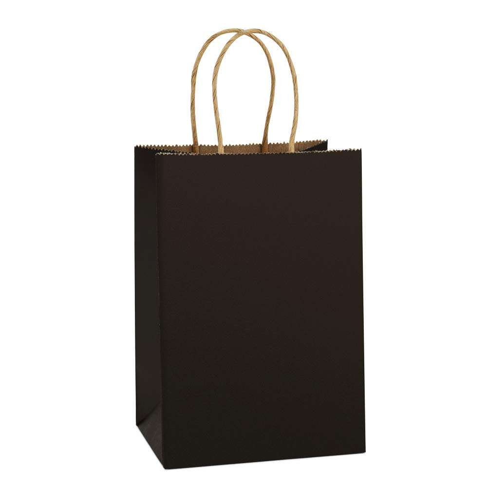 Eco Friendly Customized Logo Branded Promotional Recyclable Paper Kraft Bag