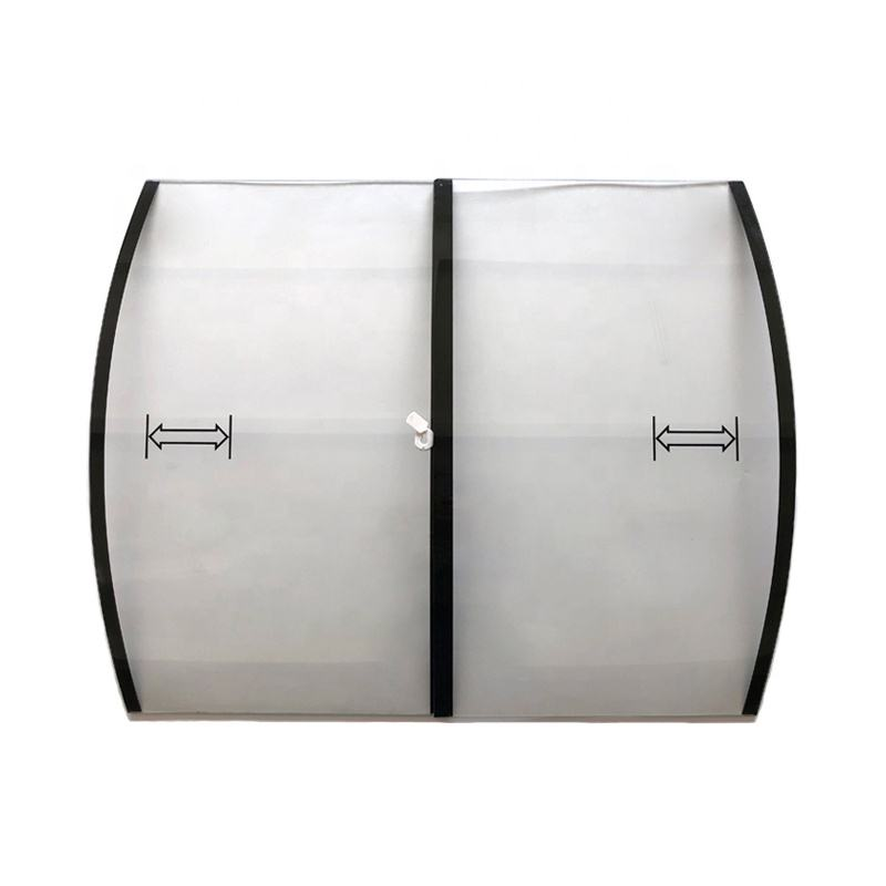 Curved Tempered Glass for Chest Freezer for Supermarket Use