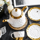 China Tea Sets China Tea Set Handmade Luxury Royal European Style Bone China Porcelain Coffee And Tea Sets With Teapot