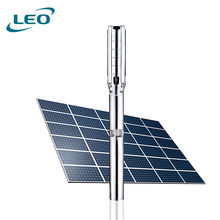 LEO Hybrid Inverter Solar Energy 5 Inch Water Pump For Irrigation