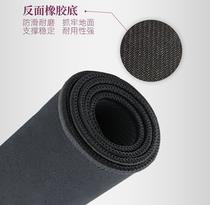 Black Non-slip Rubber Puzzle Mat Roll Up for 1500pcs