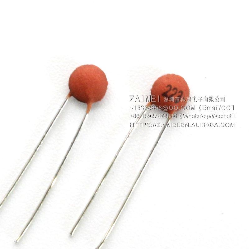 100Pcs 223 22nF 50V Multilayer Monolithic Ceramic Chip Capacitor