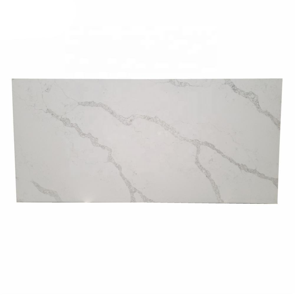 Artificial Marble Stone Name and Cut-To-Size Stone Form Calacatta Quartz Stone