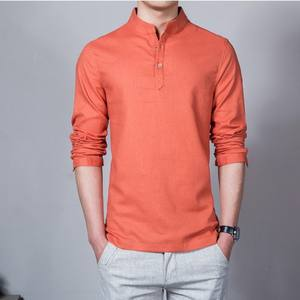High Quality Mercerized Cotton Ropa Hombre Men's Short Sleeve T-shirt Clothes