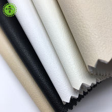 OEM fashion garment material synthetic PU leather