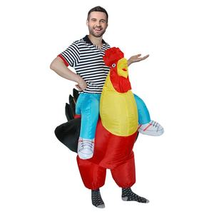 Amazon inflatable riding cock costume blow up walking cock mascot costumes for adult