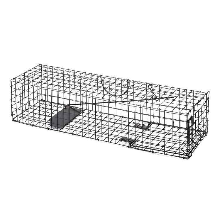 Easy Set Galvanized Collapsible Wire rat trap Large Animal Cage