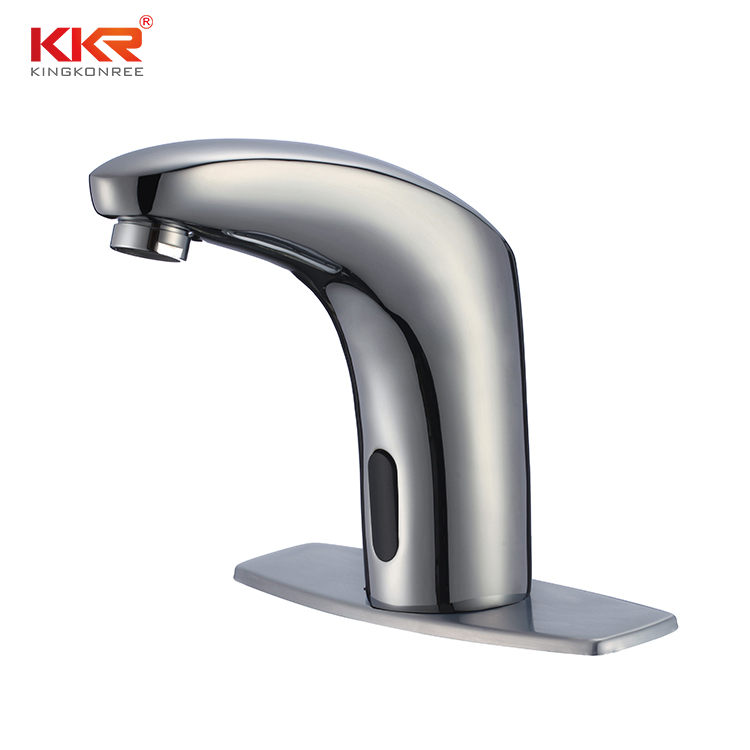 sensor faucets hotel touchless intelligent water save basin tap automatic smart faucet sensor faucet