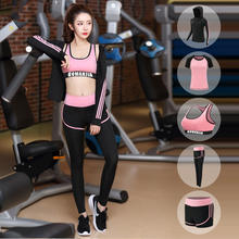 2020 NEW Type Yoga Suit Sets Clothes Sexy Sports Women Fitness Oem Spandex Style Sportswear