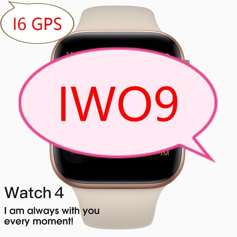 Gps Smart Watch IWO9 Bluetooth Series 4 <span class=keywords><strong>Charger</strong></span> Nirkabel Iwo 8 PLUS Smartwatch <span class=keywords><strong>Olahraga</strong></span> Pelacakan untuk Apple iPhone Android