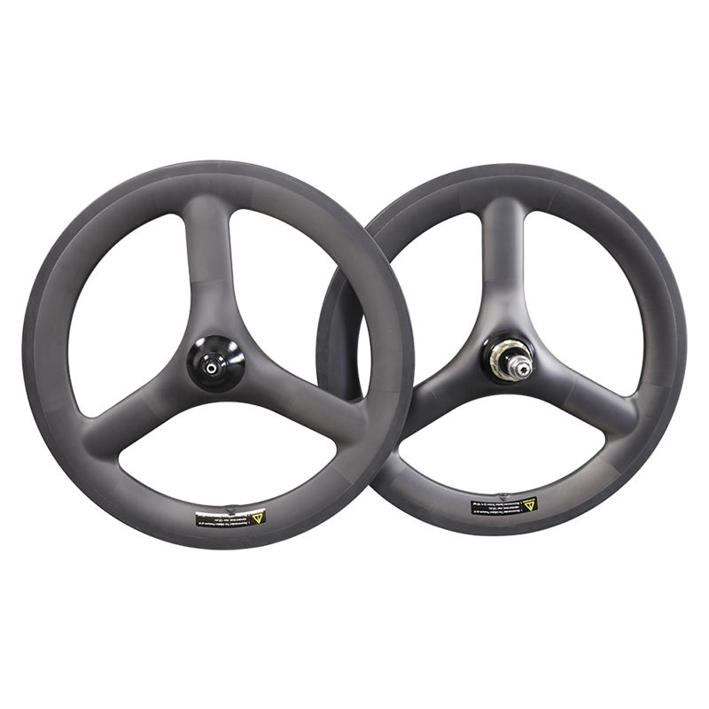 2020 ICAN New Available 16 inch 349 carbon bmx wheels 3-spokes carbon wheel for folding bike