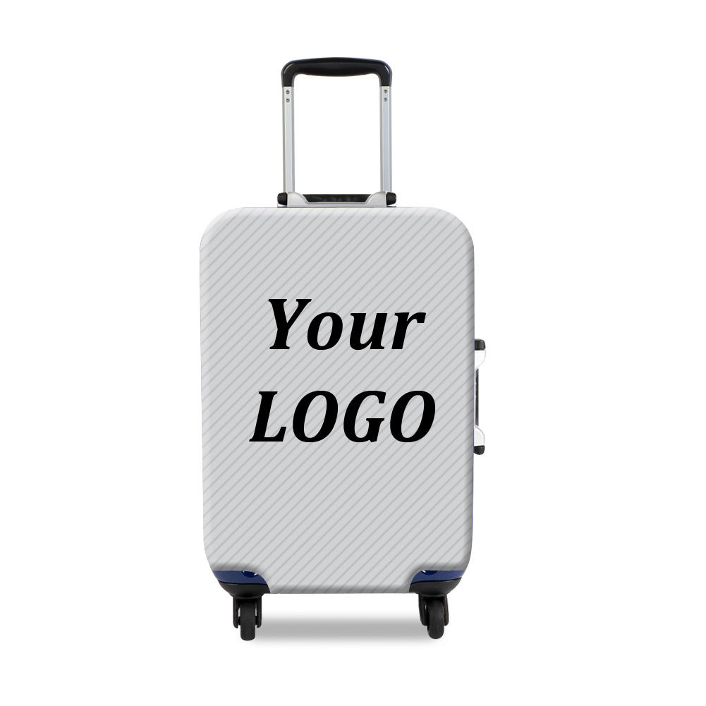 Custom Suitcase Cover Spandex Sublimation Luggage Cover