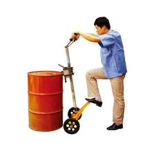 Manual Oil Hand Truck Drum Trolley for Steel Plastic Drums