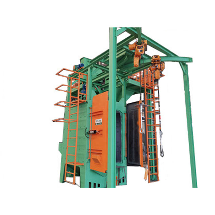 KNNJOO - LPG /CNG /Gas Cylinder Shot Blasting Rust Removing Machine