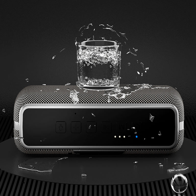 Neue Design 50W DSP TF Kreative Subwoofer Super Bass Mage-Bass Mini Drahtlose Bluetooth Lautsprecher