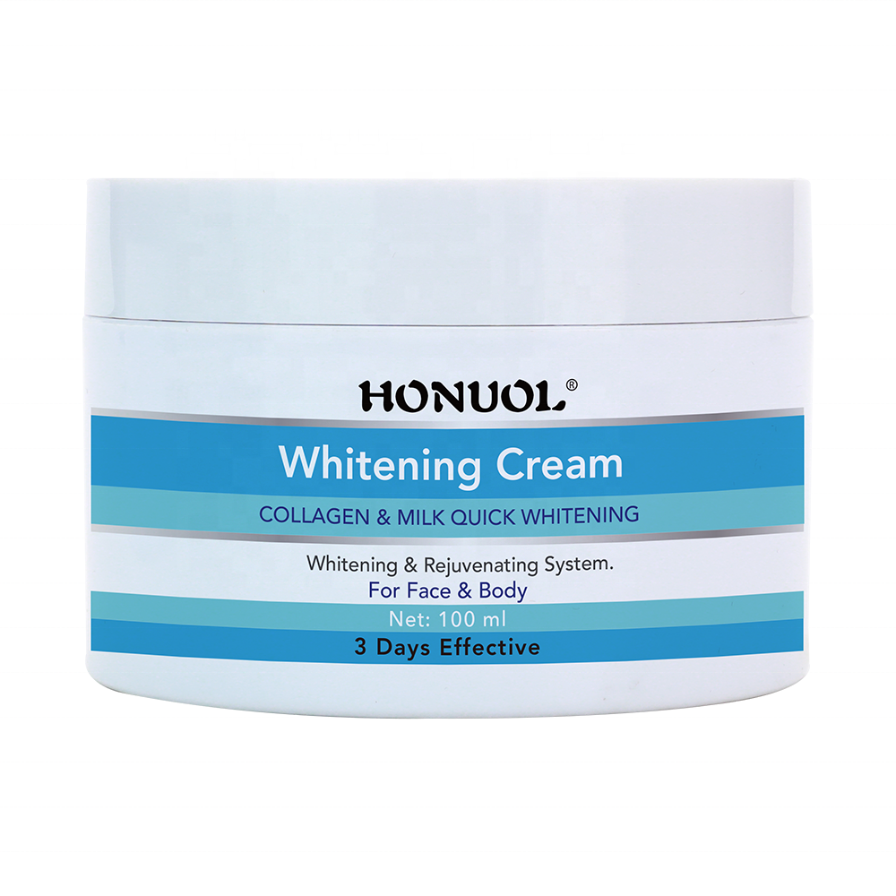 OEM/ODM Wholesale Private Label No Side Effects Beauty Skin Care Face Whitening Cream