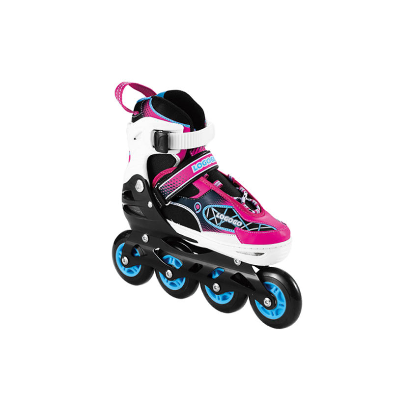Cartoon children inline skate four wheels inline skate girls roller skates adjustable large