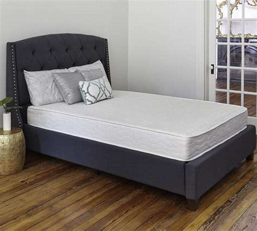 Luxe Gebreide Beddengoed Boxspring Encasement-Bed Bug Proof Protector-Gebreide Matrashoes Met Rits-Queen Size