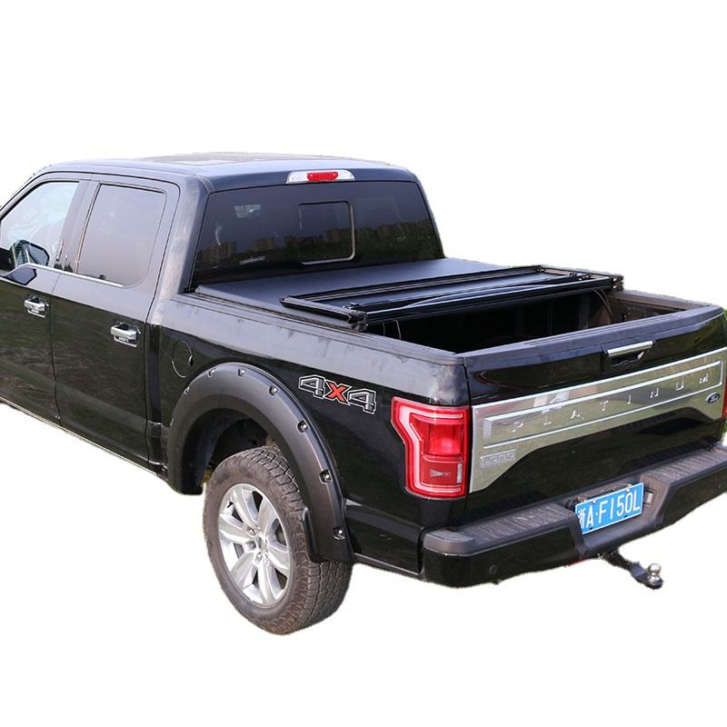 "Pickup Truck Bed Long Bed Soft Tri Fold Black Tonneau Covers für Toyota Compact 6 ""ShoBR Bed 1989-2004"