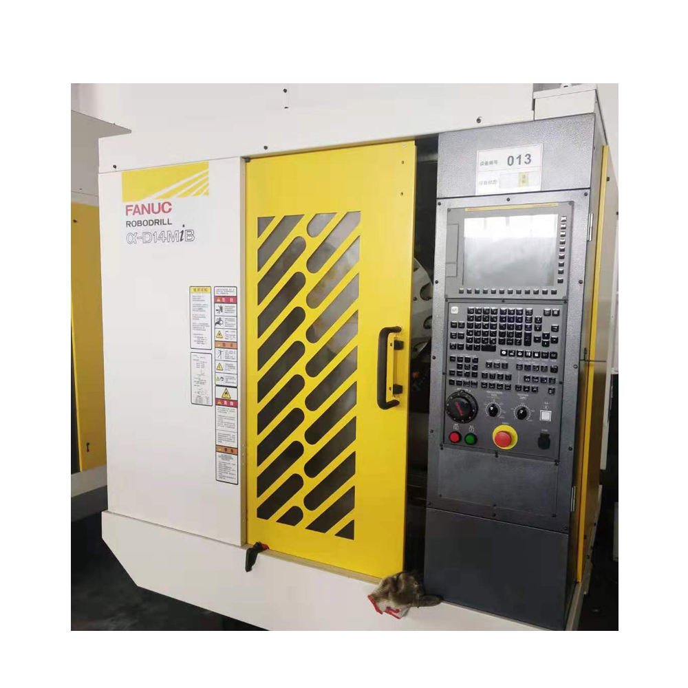 Used High speed and precision CNC milling machine / fanuc brand vertical cnc milling and drilling machine center
