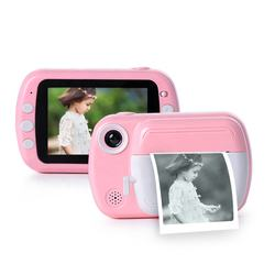 Kids Mini Video Photo Print Camera Fixed Lens Gift Kids Digital Toy Instant Camera for Kids