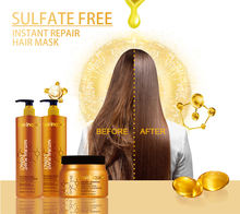 100ml 300ml 500ml Deeply cleaning /nourishing hair sulphate free shampoo with argan oil macadamia oil