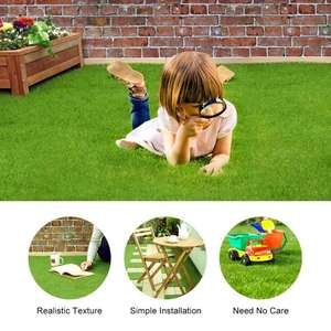 Synthetic Mesh Lawn Outdoor Garden Landscape Ornament Home Decor Grass Carpet for Home and Garden Artificial Grass Mat Turf