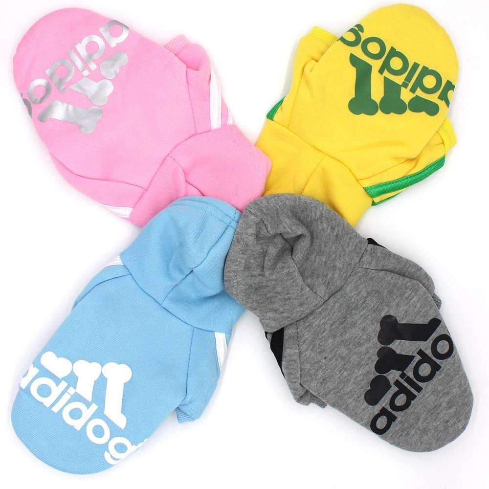 Dog Clothes Winter Pet Clothing Chihuahua Ropa Perro French Bulldog Coat Shirt Solid Sweatshirt For Dogs Pets Costume