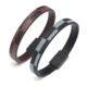 New Punk Rock Style Popular Women Bracelets Magnet Hand Made Man Leather Bracelet For Male Accessories Gift