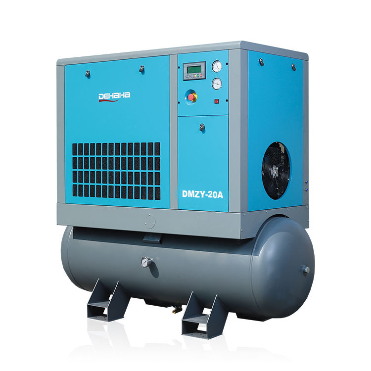 Portable Screw Type 16 bar Air Compressor with 500L Air Tank