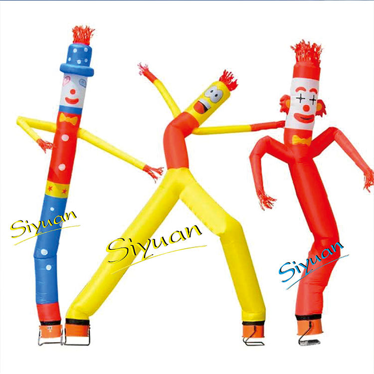 Wholesale Cheap double legs advertising mini inflatable air tube man