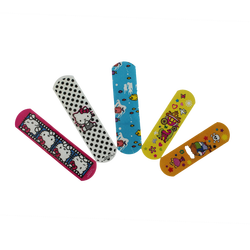 Medical PE Cartoon Band Aid Plaster for Kids