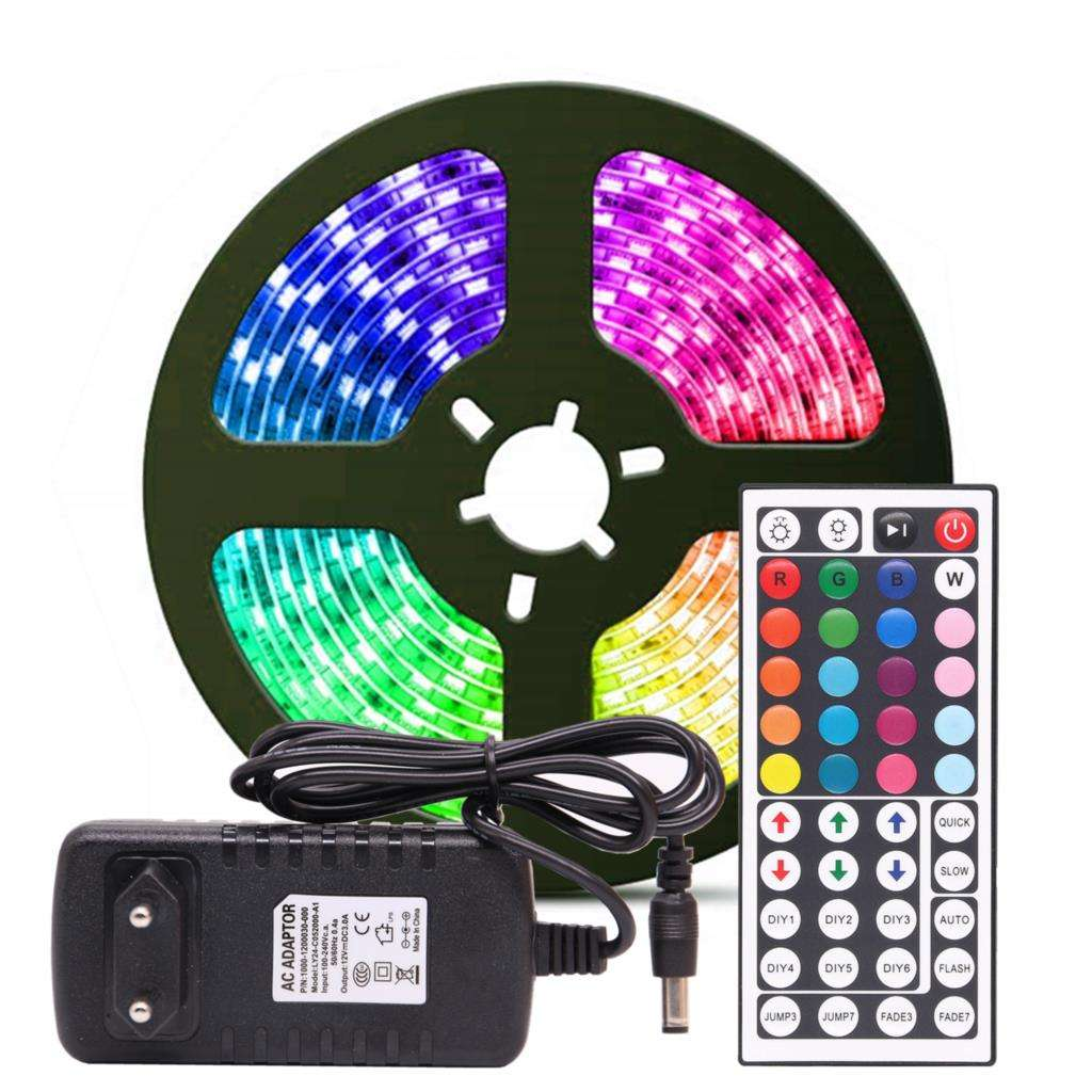 High quality 5m10m rgb waterproof grow light color wifi led strip lights with remote